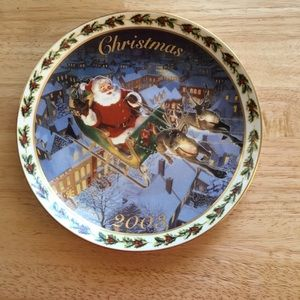 2003 Avon Christmas Collector Plate